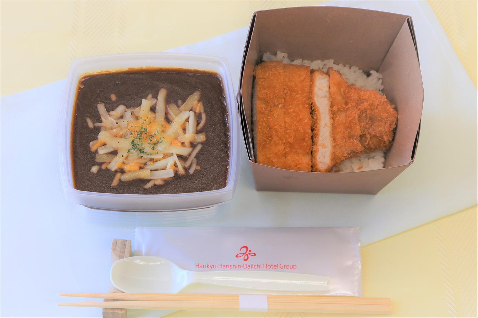 東京第一ホテル_チーズカツカレー